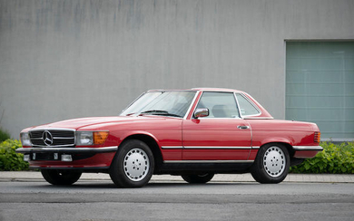 1986 Mercedes-Benz 560 SL Roadster with Hardtop, Chassis no. WDBBA48D8GA053729