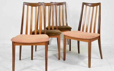4 High Back Mid Century Dining Chairs - G-Plan