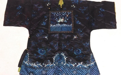 A Chinese Silk Robe, Qing Dynasty