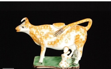 A late 18th to early 19th Century Staffordshire Pratt Ware c...