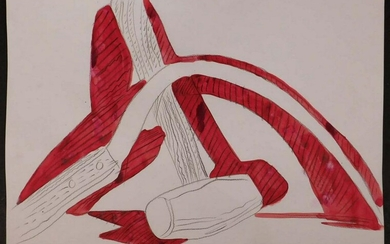 Andy Warhol Attr.: Hammer and Sickle