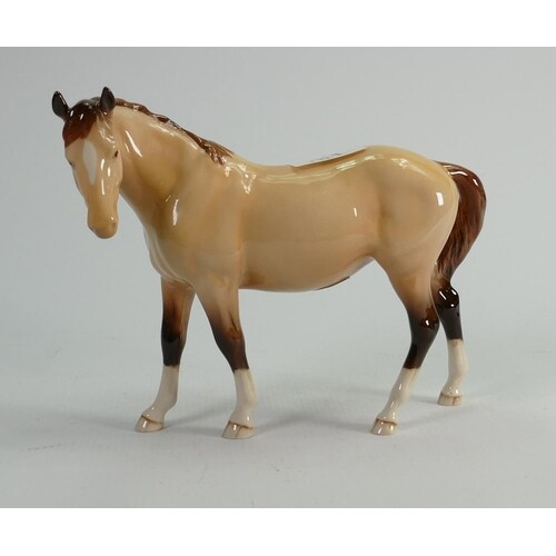 Beswick Dunn Mare 976: made for the collectors club in 1997.