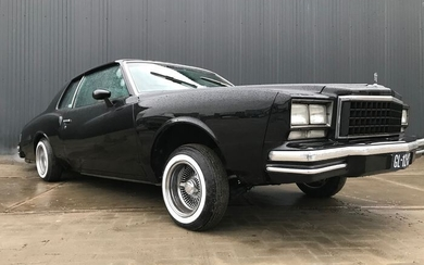 Chevrolet - Monte Carlo by Cult and Classics - 1980