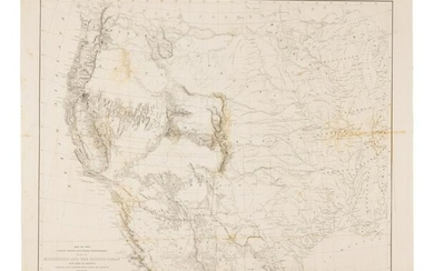 EMORY, William H. (1811-1887). Map of the United