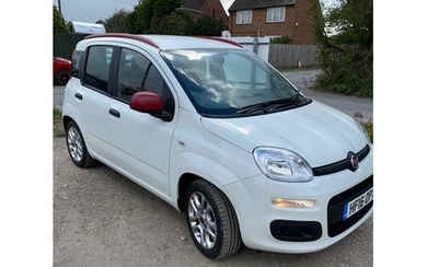 Fiat Panda 1.2 Easy, No V5, service booklet and Owners Handb...