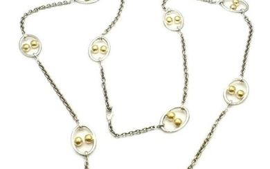 New! Authentic Gurhan 24k Yellow Gold Sterling Silver