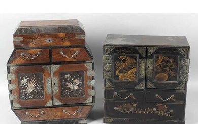 Two Chinese cabinets