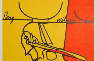Valerio Adami, Fondation Maeght, Lithograph Poster
