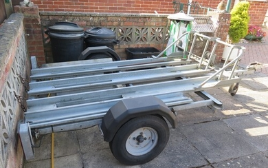 Wessex 3 bike/sidecar trailer (at our Sherborne Salerooms an...