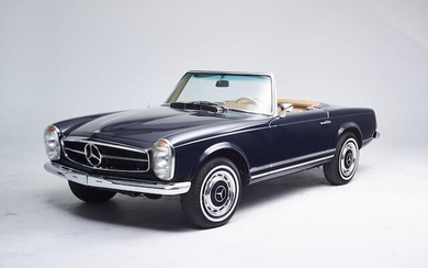 1972 Mercedes-Benz 280 SL Pagoda with Hardtop, Chassis no. 113044-10-023810 Engine no. 130983-10-008158