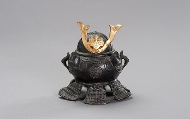 A KORO IN A SHAPE OF KABUTO