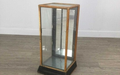 AN EARLY 20TH CENTURY TABLE TOP DISPLAY CASE