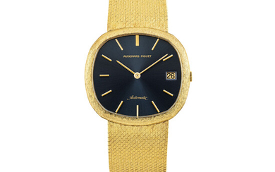 AUDEMARS PIGUET, GOLD BRACELET WATCH