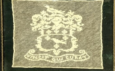 An embroidery by Mary Laura Nicol, The White Crest