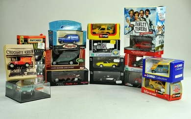 An interesting larger group of diecast from various