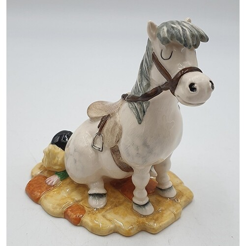 """BESWICK 13.3cm CHARACTER MODEL """"POWERFUL HINDQUARTERS ARE A ..."""