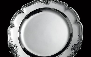 CHRISTOFLE - TWO ANTIQUE FRENCH 950 STERLING SILVER