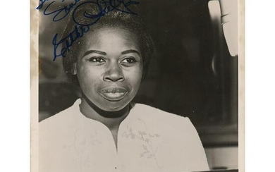 Esther Phillips Signed Photograph