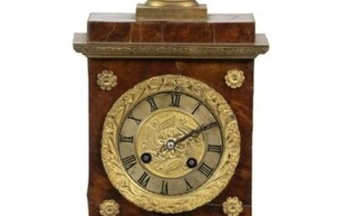 FRENCH NEO-CLASSICAL MANTEL CLOCK BY SAMUEL MARTIE ET