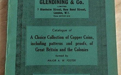 Glendining & Co. Catalogue of A Choice Collection of Copper...
