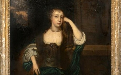 Portrait Of Lady Oil Painting