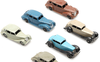 QUANTITY OF MECCANO DINKY SALOON CARS.