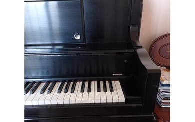 Steinway (c2014) A New York Model 45 upright piano in a sati...