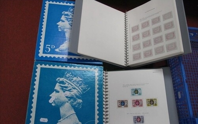 Two Twenty Two Ring Collection G.B Albums, of mint and a few...