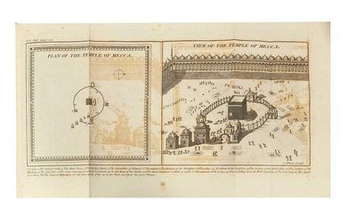 A COMPLETE 'THE KORAN; COMMONLY CALLED THE ALCORAN OF MOHAMMED' Translated by George Sale, 1812