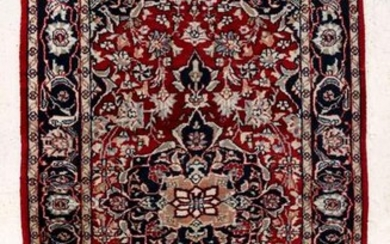 A LATE 20TH CENTURY INDO PERSIAN RUG