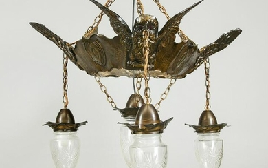 Ceiling lamp, 2nd half of the 20th