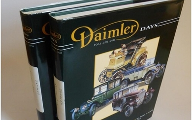Daimler Days by Brian E. Smith. 'In celebration of 100-year...