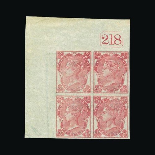 Great Britain - QV (surface printed) : (SG 78a) 1862 ABNORM...