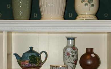 Group of Decorative Glass and China Items
