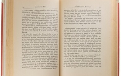 Hardcover edition of the well-known book, '1. Band, Ausgabe 1925',...