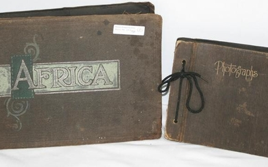 LOT OF TWO WORLD WAR I PHOTO ALBUMS, DOCUMENTING