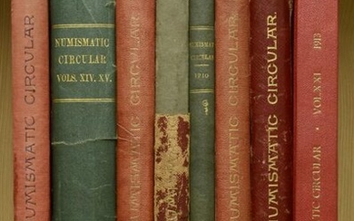 Numismatic Books from Various Properties