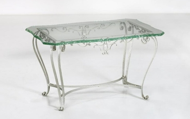PIER LUIGI COLLI attributed. Coffee table, 50s.