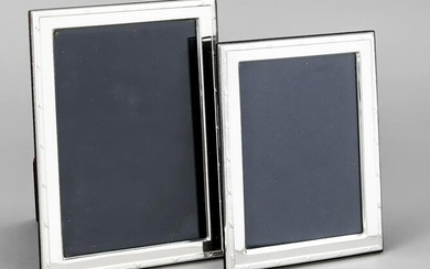 Pair of photo stand frames, I