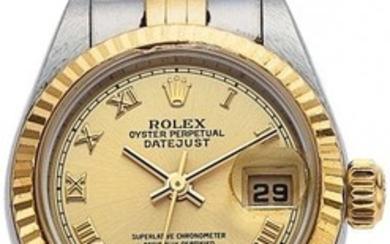 Rolex Gold, Stainless Steel Oyster Perpetual Dat