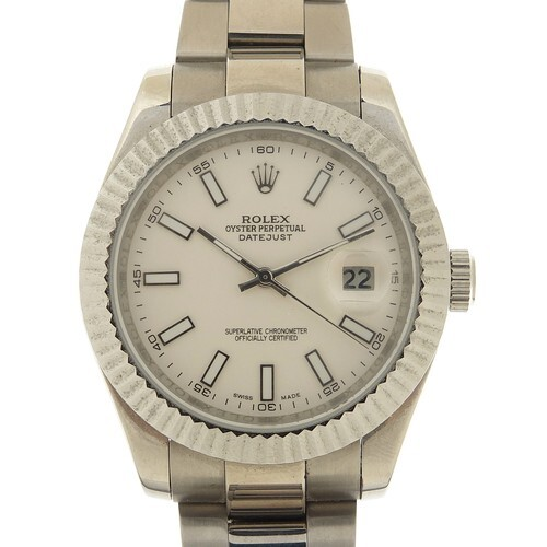 WITHDRAWN - Rolex, gentleman's Oyster Perpetual Datejust aut...