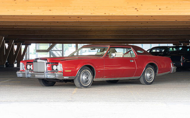 1975 Lincoln Continental Mark IV Coupé, Chassis no. 5Y89A870469
