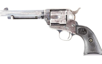(A) COLT SINGLE ACTION ARMY REVOLVER IN .41 COLT