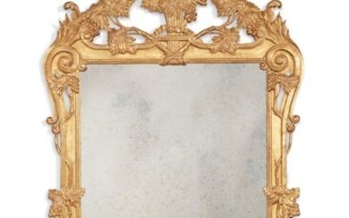 A Louis XV Style Giltwood Mirror, South of France, 19th Century