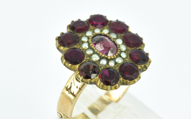 AN ANTIQUE RUBY