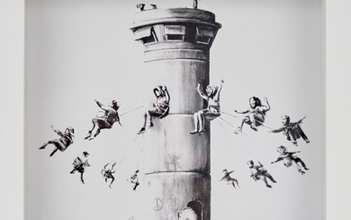 BANKSY, born in 1974 BOX SET, 2017 Print 25 x...