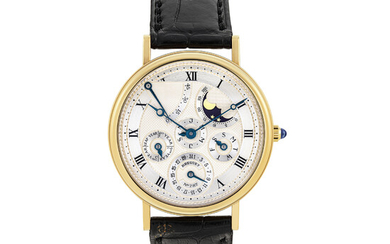 BREGUET, GOLD, PERPETUAL CALENDAR, MOON PHASES AND POWER RESERVE, REF. 3317