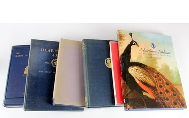 Books, a range of Banking history/reference books, The Lloyd...