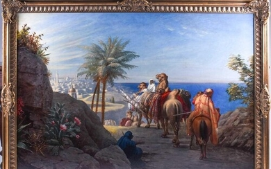 Late 19th / early 20th century Orientalist school, a group o...