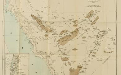 Middle East.- Doughty (Charles M.) A Map of North